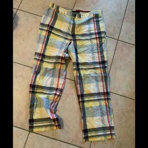Tommy Hilfiger plaid pants